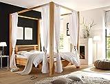 Expendio-44850991-Himmelbett-Holz-natur-218-x-198-x-210-cm