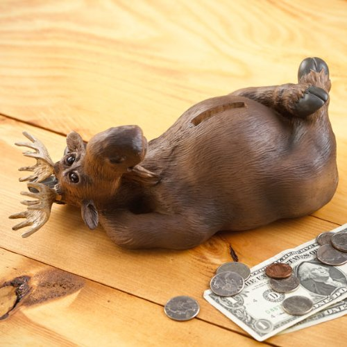 Melvin Moose Coin Piggy Bank - 1