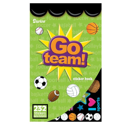 Sports Sticker Book Party Accessory