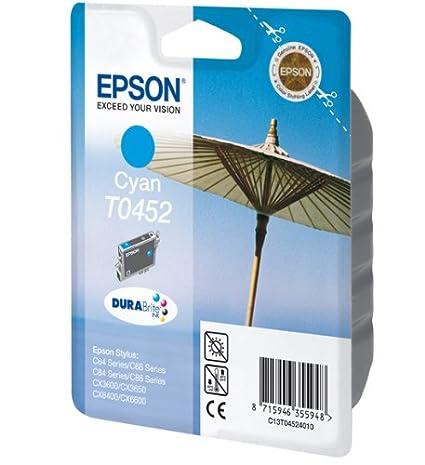 Epson C13T04524010 - EPSON DURABRITE CYAN INK C64-C84 STD