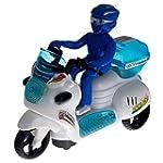 Policier sur sa moto - Effet Bump & Go