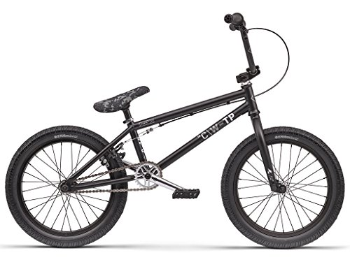 "We The People ""Curse"" - Bicicletta BMX, da 18"", colore: nero opaco"