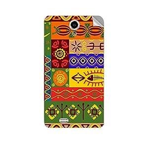 Garmor Designer Mobile Skin Sticker For XOLO Q900 - Mobile Sticker