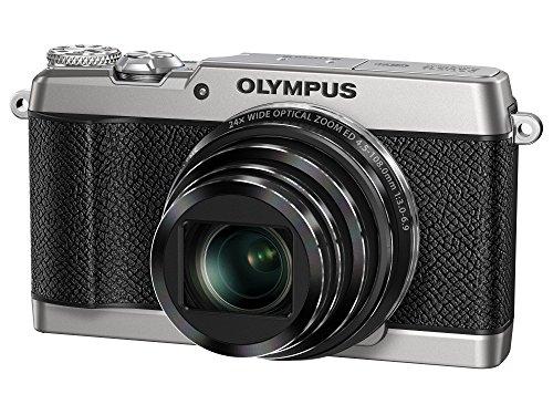 OLYMPUS コンパクトデジタルカメラ STYLUS SH-3 シルバー 光学式5軸手ぶれ補正 光学24倍&超解像48倍ズーム SH-3 SLV