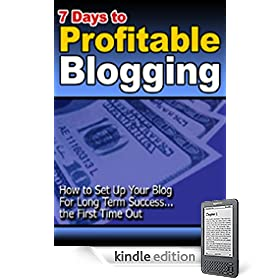 7 Days To Profitable Blogging - How To Set Up Your Blog For Long Term Success!