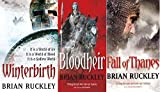 BRIAN RUCKLEY BRIAN RUCKLEY 3 BOOK SET COLLECTION WINTERBIRTH BLOODHEIR & FALL OF THANES BRAND NEW