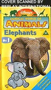 Disney's Magical World of Animals No.1 - Elephants (VHS Video)