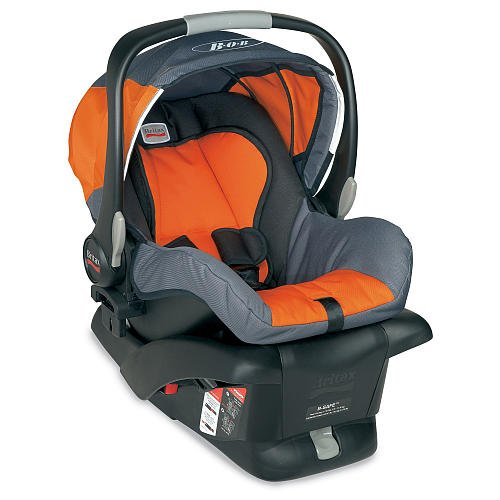 Bob Bsafe Infant Car Seat Orange front-157909