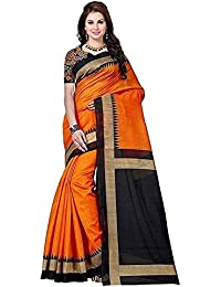 Alka Fashion Art Silk Bhagalpuri Party Wear Saree With Blouse