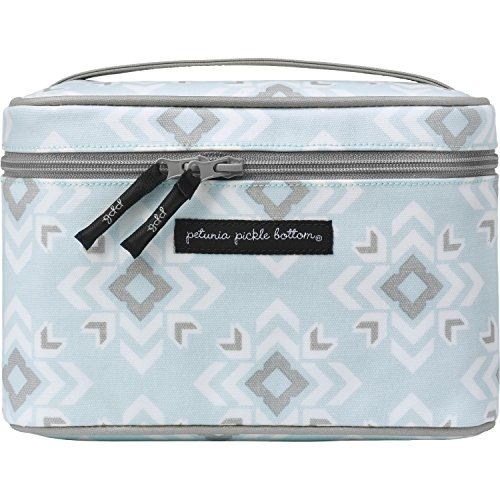 Petunia Pickle Bottom Travel Train Case, Sleepy San Sebastian Blue (Petunia Pickle Bottom Makeup Bags compare prices)