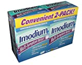 Imodium Multi Symptom Relief Diarrhea Plus Antidiarrheal and Anti gas 30 Caplet Box (Pack of 2)