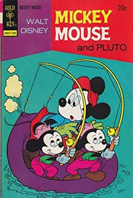 Mickey Mouse #144 Back Issue Comic Book (Sep 1973) Fine -