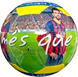 "2014 FC Barcelona High Definition Photo Soccer Ball #5-""Mes Que Un Club"""