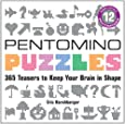 Pentomino Puzzles [With Set of 12 Pentominoes]