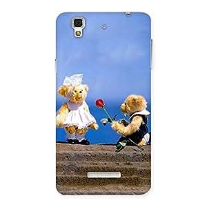 Premium Proposal Teddy Multicolor Back Case Cover for YU Yureka Plus