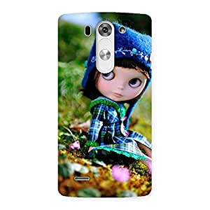 Special Cute Kid Multicolor Back Case Cover for LG G3 Mini