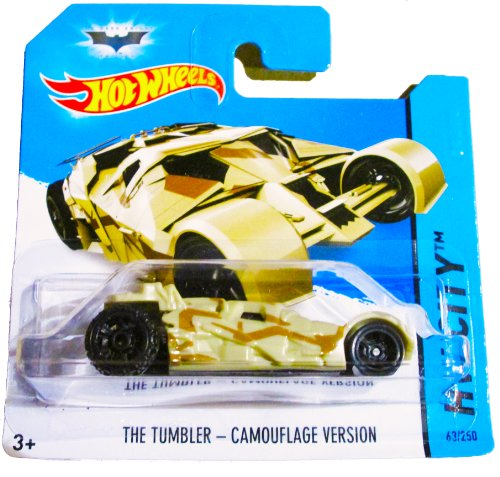 Hot Wheels HW City - 63/250 - The Dark Knight - The Tumbler - Camouflage Version on Short Card