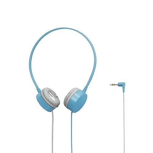 ELECOM EHP-OH200 LIGHT BLUEの写真01。おしゃれなヘッドホンをおすすめ-HEADMAN(ヘッドマン)-