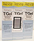 Neutrogena T/GEL Therapeutic Shampoo 3 Bottles x 250ml