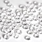 #7: 5000 CLEAR WEDDING TABLE DIAMONDS CONFETTI SCATTER CRYSTALS - HIGH QUALITY - FOR 6 TO 8 TABLES by Wedding Bliss