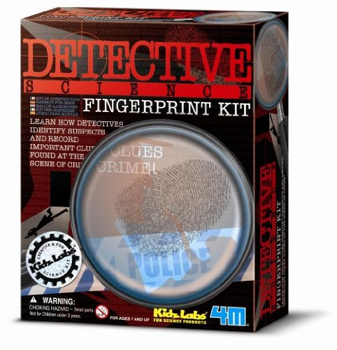 Detektiv-Set - Fingerabdrücke für 5 Kids