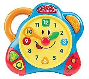 Kidoozie Tic-Toc Teaching Clock