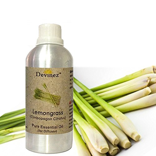 Devinez Lemongrass Essential Oil For Electric Diffusers/ Tealight Diffusers/ Reed Diffusers, 250ml