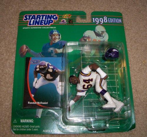 1998 Randall McDaniel NFL Starting Lineup Figure Minnesota Vikings
