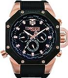TechnoSport Men's Chrono Watch - Rose Gold / Black