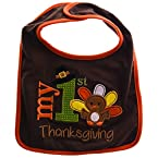My First Thanksgiving Baby Bib