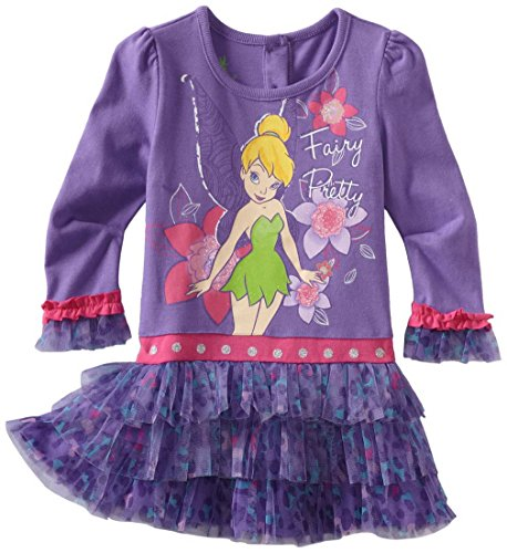 Novatx Little Girls comfortable Toddler Tinkerbell Fairy Pretty Dresses