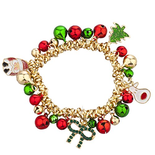 Christmas Jingle Bells Charm Bracelet