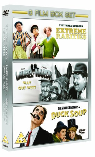 3 Stooges/Laurel and Hardy - Way Out West/Marx Brothers - Duck Soup [Import anglais] (Duck Soup Marx Brothers compare prices)