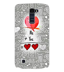 Axes Premium Designer Back Cover for LG K7 (-d1067