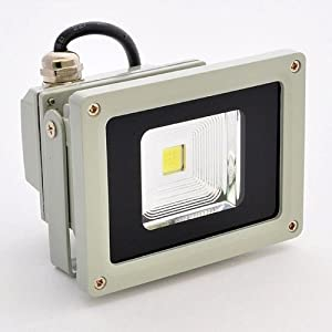 Click to buy LED Outdoor Lighting: 10 Watt LED Waterpoof Outdoor Security Floodlight from Amazon!