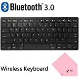 Boxcave Wireless Bluetooth 3.0 Slim Keyboard For Apple IPad 2 /iPad 3 / IPad 4 / IPad Mini / IPad Mini 2 / The...