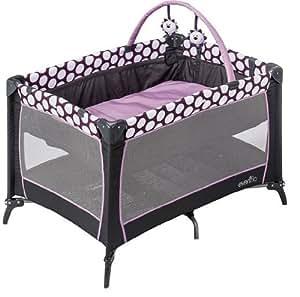 Evenflo Portable Babysuite 100 Playard, Polka Dottie Purple