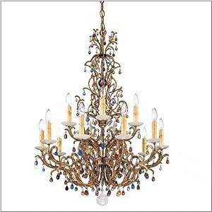 Schonbek Genesis 15 Light Crystal Chandelier 9882 :: Best Deal