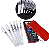 Mudder 24 Assorted Watercolors Field Sketch Set with Water Brush Pens