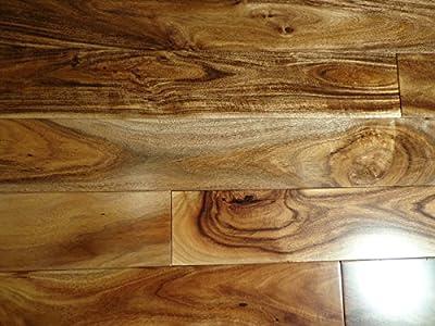 "Kingsport Acacia Natural SOLID 3-5/8"" Smooth Exotic Hardwood Flooring FH023 SAMPLE"