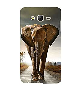 Lovely Elephant 3D Hard Polycarbonate Designer Back Case Cover for Samsung Galaxy On5 :: Samsung Galaxy On 5 Pro