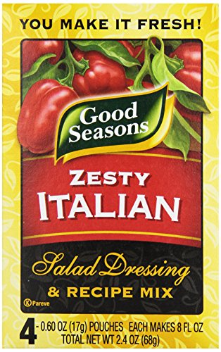 Kraft Good Seasons Salad Dressing and Recipe Mix, Zesty Italian, 2.4 Ounce (Global Goods compare prices)