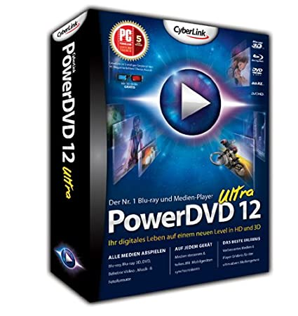 PowerDVD 12 Ultra (Windows 8)