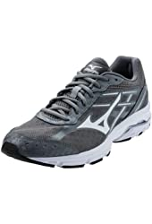 Mizuno Women's Wave Unite 2 Running/Training Shoe - Grey & White