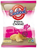 Seabrook Crinkle Cut Potato Prawn Cocktail Flavour Crisps 31.8 G (pack Of 48)