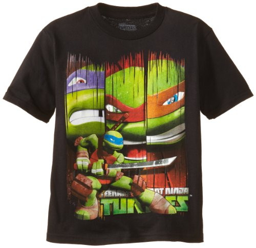 Nickelodeon Little Boys' Teenage Mutant Ninja Turtles Wing Tee