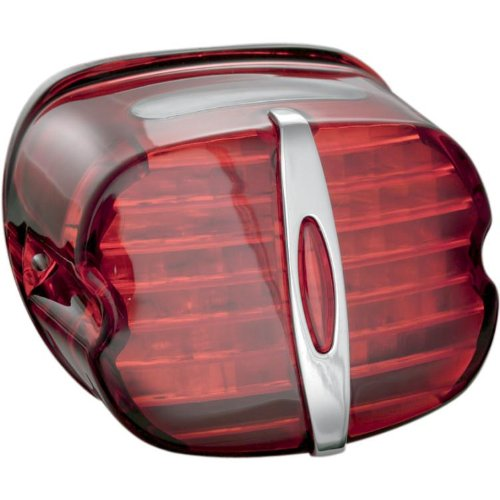 Kuryakyn Panacea Led Tail Light - Deluxe Red (Red)