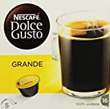 Nescafé Dolce Gusto Kaffeekapseln, Grande, 16 Kapseln für...