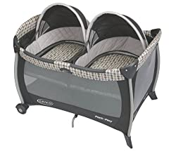 Graco Pack 'N Play Playard with Twin Bassinet