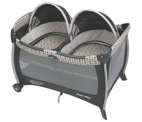 New Graco Pack 'N Play with Twins Bassinet, Vance